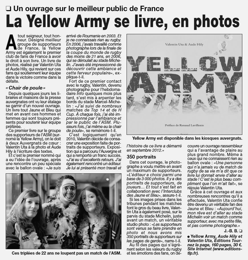 la yellow army se livre en photos valentin uta photographe professionnel clermont. Black Bedroom Furniture Sets. Home Design Ideas